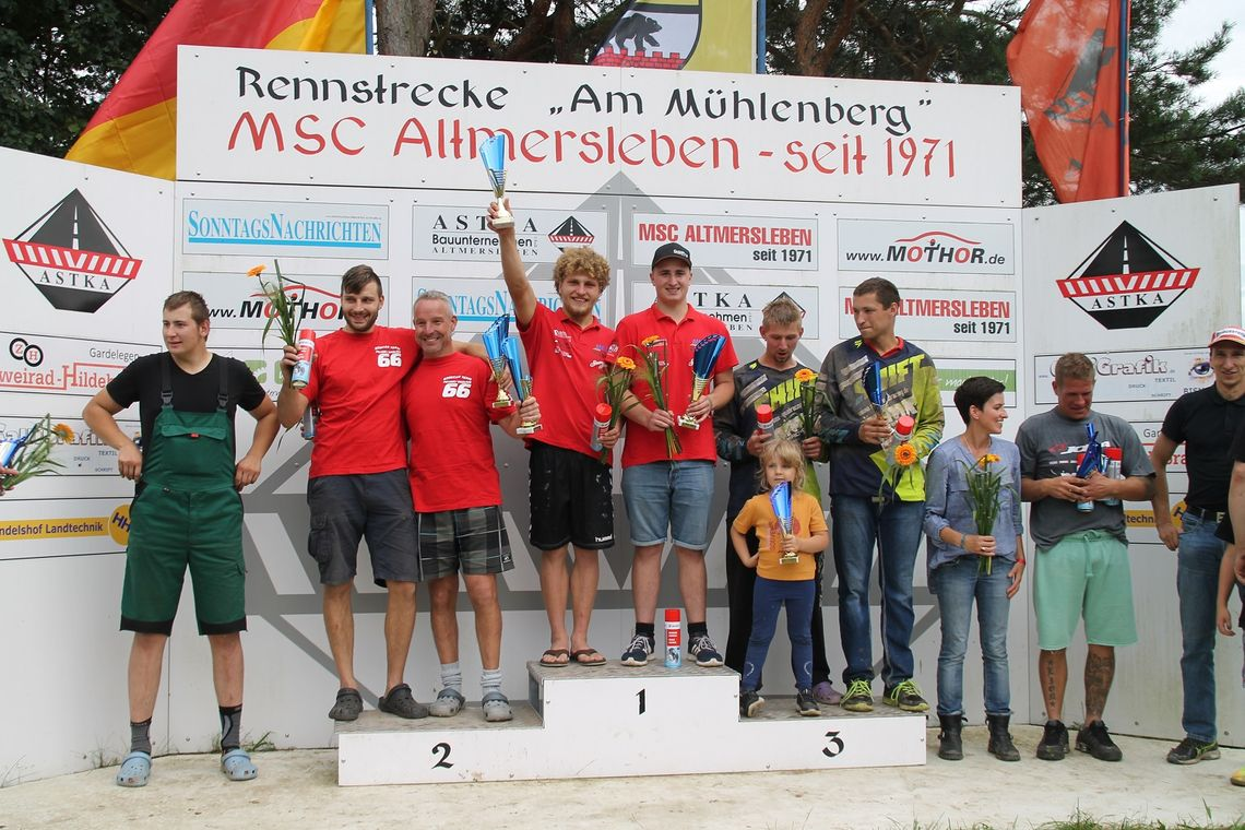 Janecke/Bothur in Altmersleben with MEGA Motor