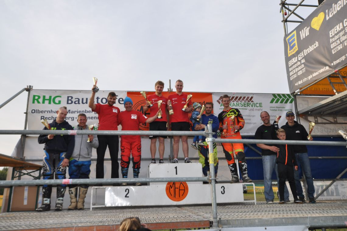 Victory MEGA-Team Janecke / Bothur on Saturday, September 23rd Championship race in Ansprung/Germany